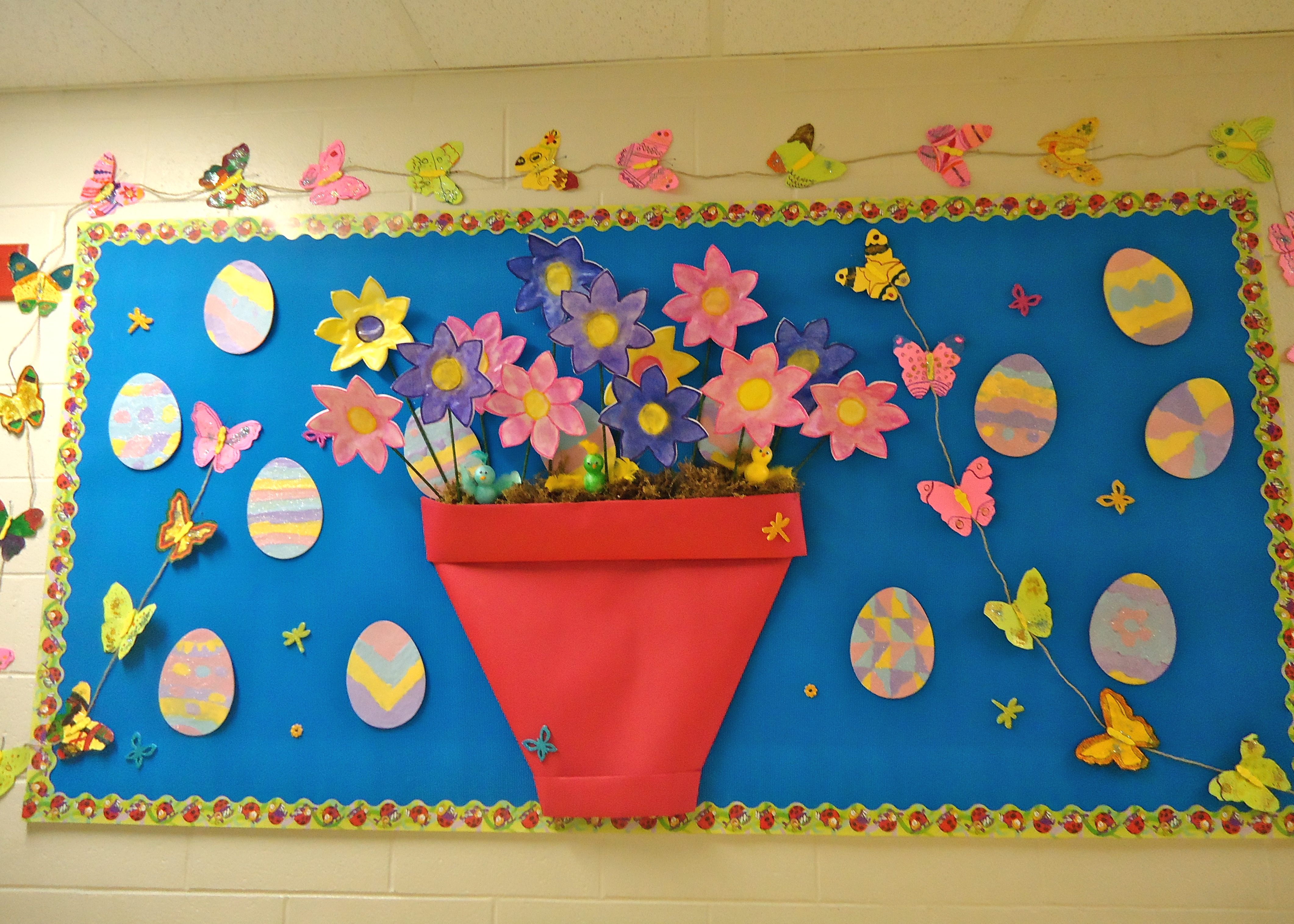 Cool Science Classroom Decorations ~ Spring preschool kindergarten and elementary bulletin